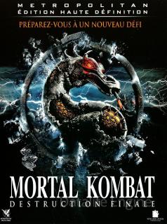 MORTAL KOMBAT 2 : DESTRUCTION FINALE - DVD Fantastique